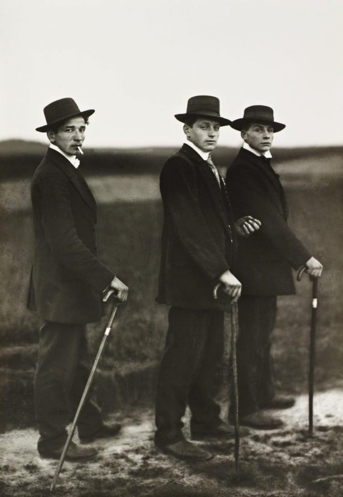 1914 - August Sander - Young Farmers