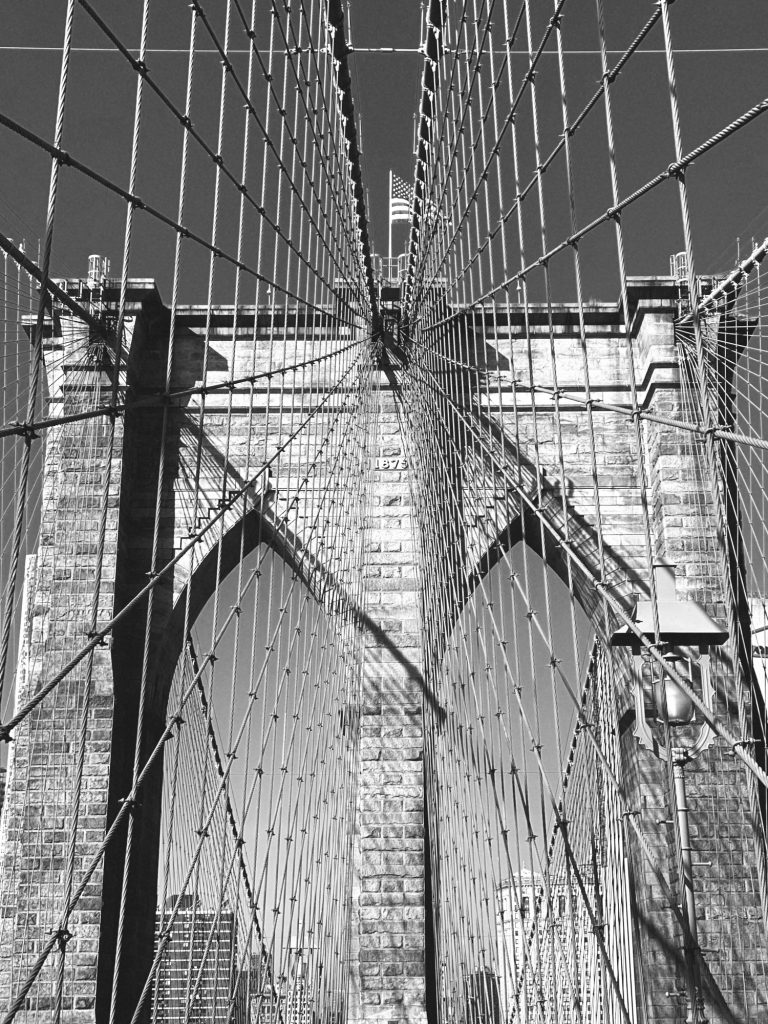 Brooklyn Bridge, New York, 2019